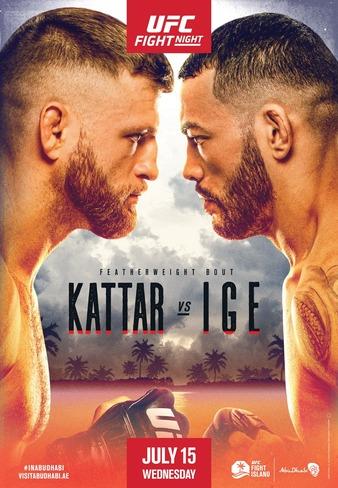 Ufc Fight Night Kattar Vs Ige Information Fight Odds