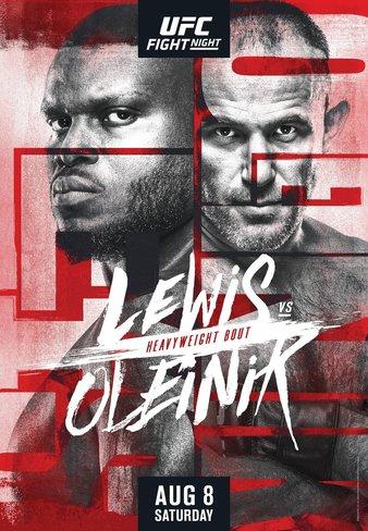 Ufc Fight Night Lewis Vs Oleinik Information Fight Odds
