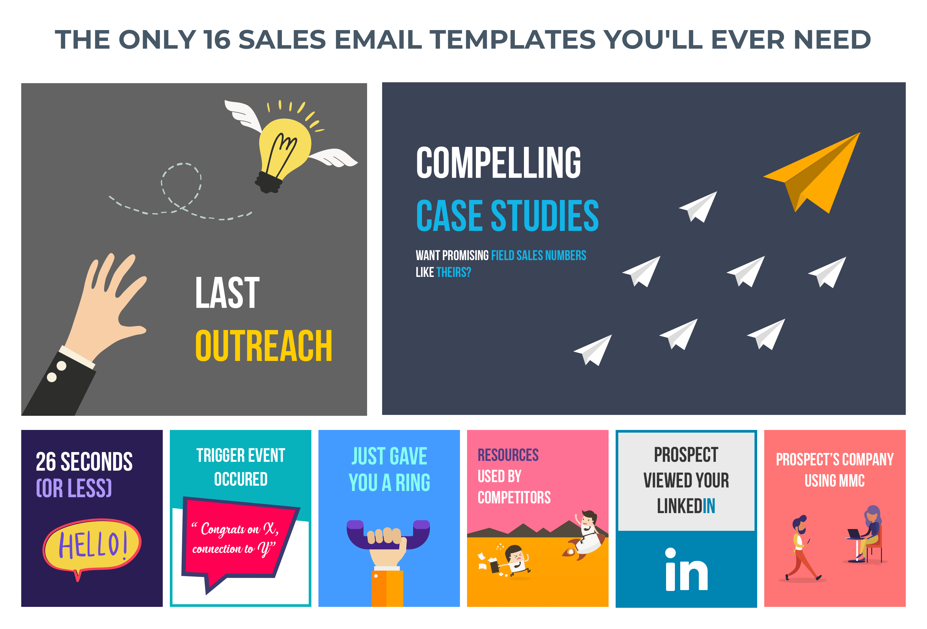 The Only 16 Sales Email Templates You'll Ever Need