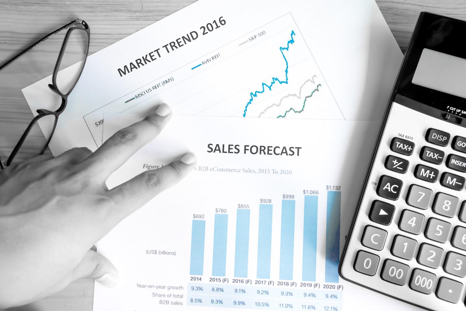 The Top 3 Methods for Quantitative Sales Forecasting