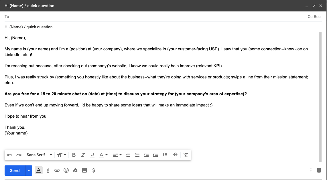 The Only 16 Sales Email Templates You Ll Ever Need