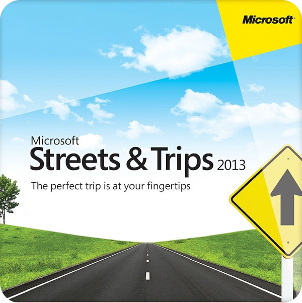 Streets & Trips 2009 latest version for mac