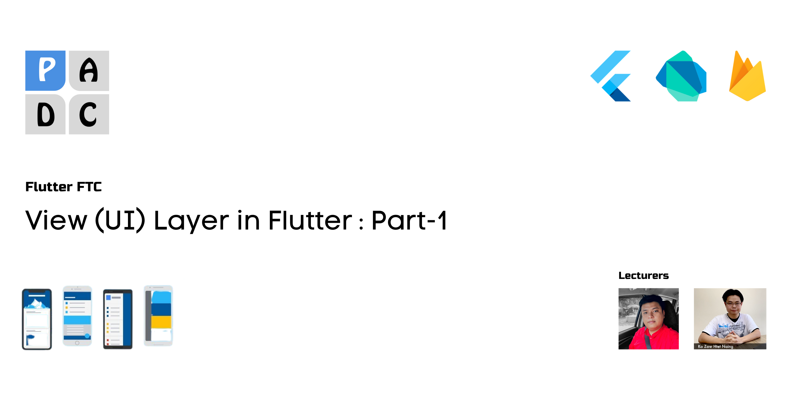View (UI) Layer in Flutter : the Movie App