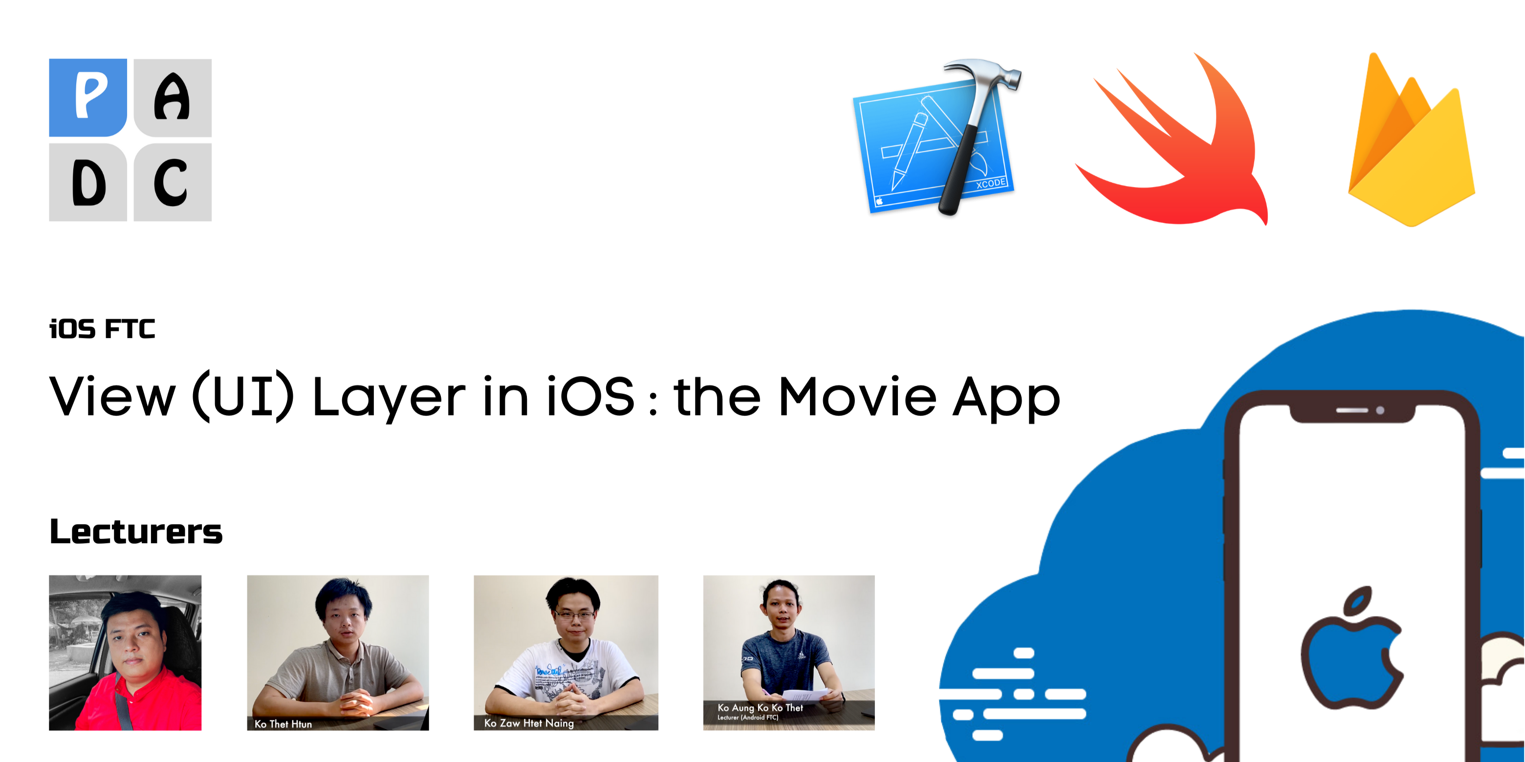 View (UI) Layer in iOS : the Movie App