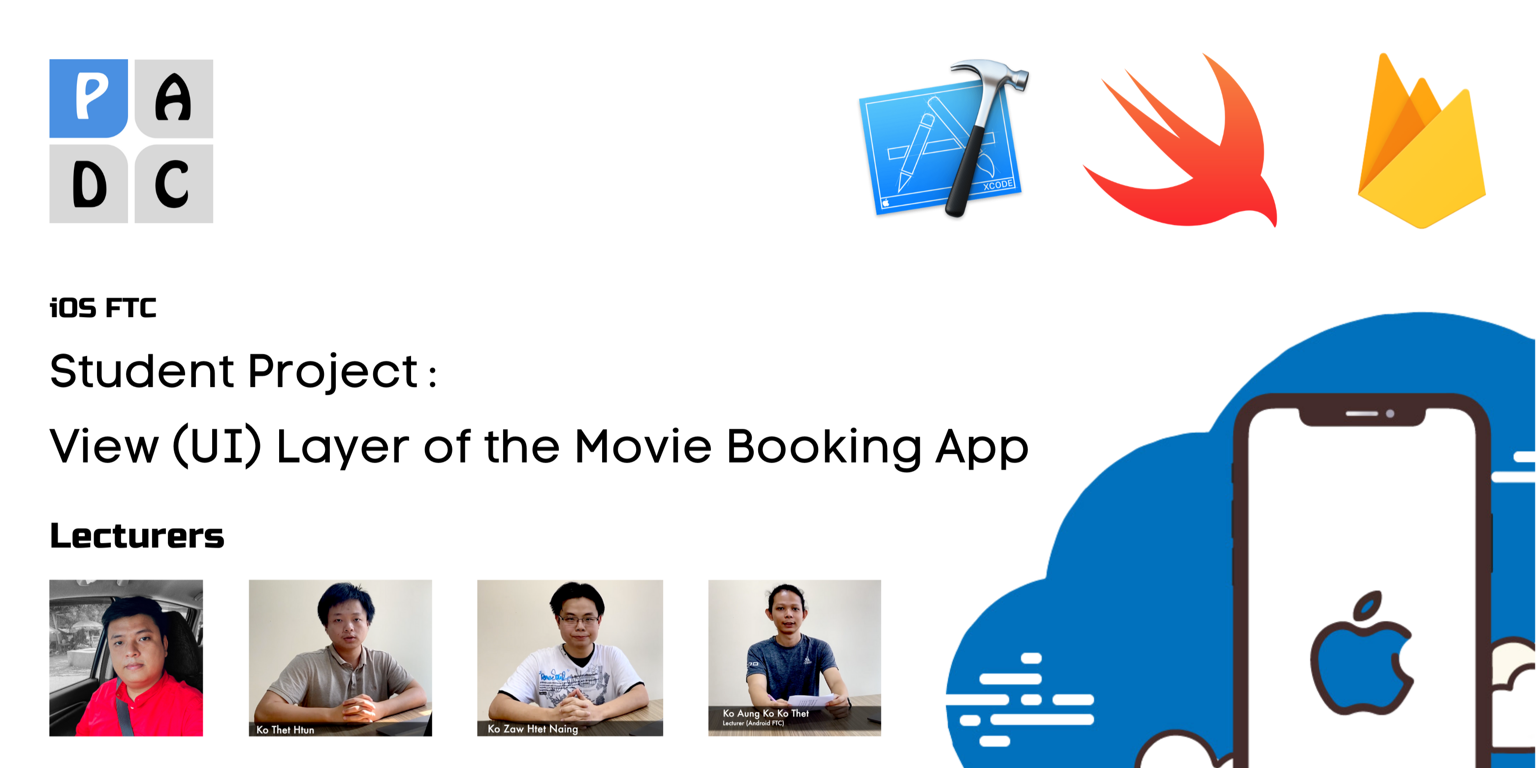 SP : View (UI) Layer in iOS : the Movie Booking App