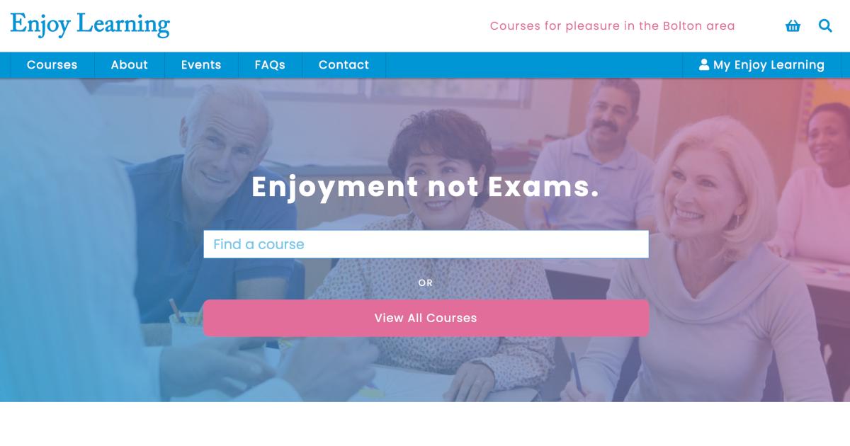 Enjoy Learning screenshot
