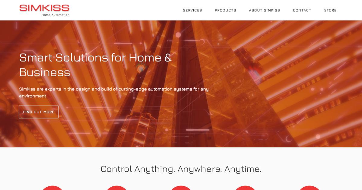 Simkiss Home Automation screenshot