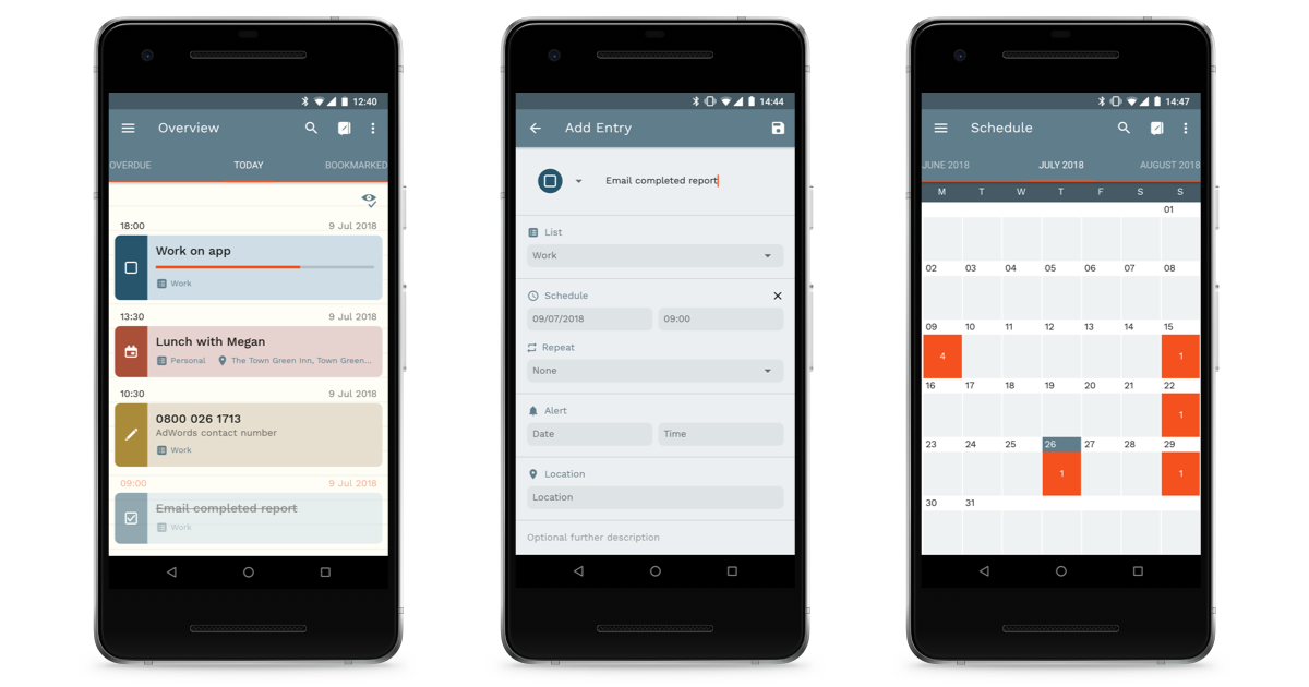 Simple Planner screenshot