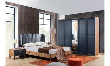 Melis Mavi Yatak Odası