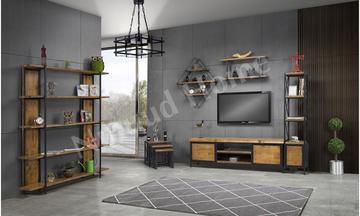 Wooden Tv Ünitesi