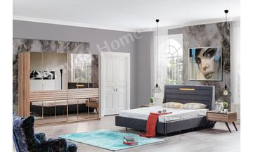 Satra Ceviz Yatak Odası