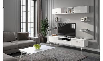 Flexi Beyaz Tv Ünitesi