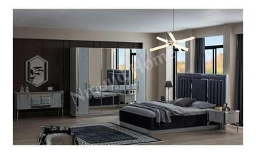 Masenta Kapaklı Yatak Odası