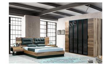 Optimus Köşe Dolaplı Yatak Odası