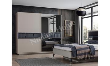 Pera Kumtaşı Sürgülü Yatak Odası
