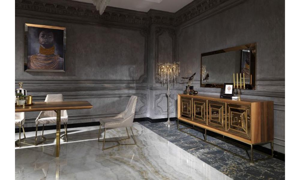 Versace Ceviz-Altın
