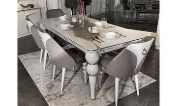 Safir Luxury Yemek Odası Takımı