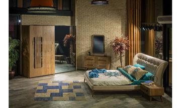 Enzo Yatak Odası Modern Yatak Odası Takımı