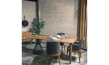 Lecco Yemek Odası Modern Yemek Odası Takımı
