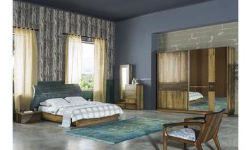 Purde K. Modern Yatak Odası Takımı
