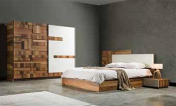 Plank Modern Yatak Odası Takımı