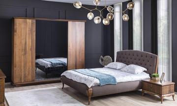 Art Ceviz Modern Yatak Odası Takımı