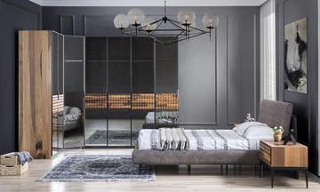 Piramit Modern Yatak Odası Takımı
