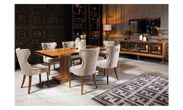 Versace 1022 Modern Yemek Odası Takımı
