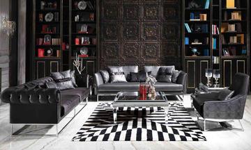 Versace & Doome Modern Koltuk Takımı