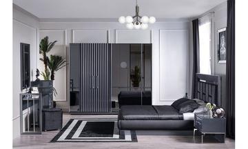 Titanyum Modern Yatak Odası Takımı
