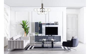Titanyum Modern Tv Ünitesi