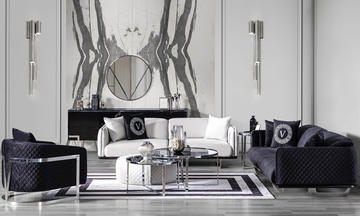 Versace Modern Koltuk Takımı