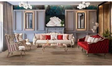 QUATRO Luxury Koltuk Takımı