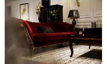 Kırmızı Luxury Koltuk Takımı