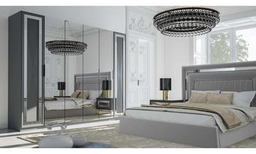 Luxemburg Gri Modern Yatak Odası Takımı