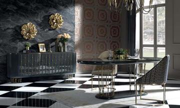 Cavalli Luxury Yemek Odası Takımı