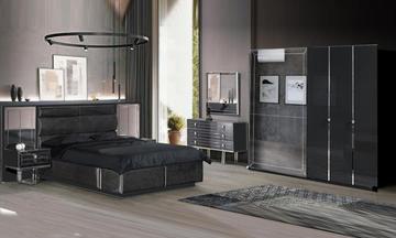 Noir Antrasit Modern Yatak Odası Takımı