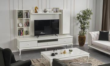 Art Beyaz Modern Tv Ünitesi