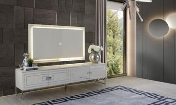Florance Beyaz Modern Tv Ünitesi