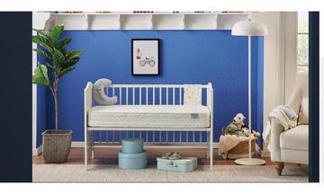 BABY BLUE STAR (BEBEK YATAĞI) Yatak