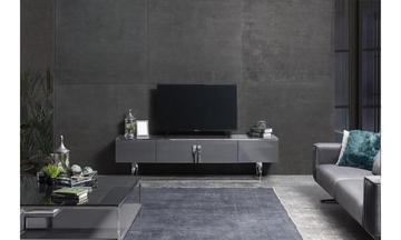 Zen Krom Modern Tv Ünitesi