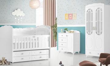 Saray Mini Bebek Odası Takımı