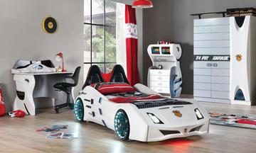 Cat Garage Arabalı Çocuk Odası Takımı