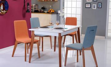 Bronze Mutfak Masası Takımı