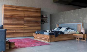 Loft Antrasit Modern Yatak Odası Takımı