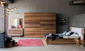 Loft Latte Modern Yatak Odası Takımı