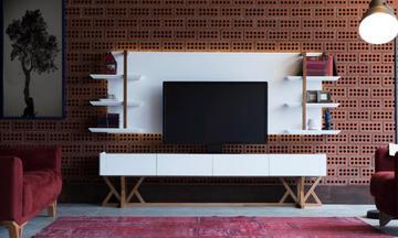 Bianco Modern Tv Ünitesi
