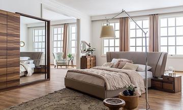 Ventura Ceviz Modern Yatak Odası Takımı