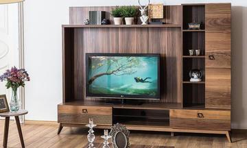 Almoda Ceviz Modern Tv Ünitesi