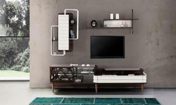 Capilon Ekru Modern Tv Ünitesi